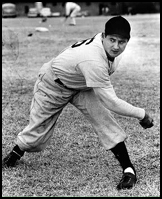 Hall of Fame pitcher Early Wynn in the late 1930s - Wynn was Mickey's favorite pitcher for hitting home runs.