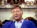 Mickey Mantle tells his life story for his award-winning program Mickey Mantle: The American Dream Comes To Life while sitting in his trophy room in his home in Dallas, Texas in 1988