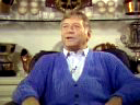 Mickey Mantle tells his life story while sitting in his trophy room in his home in Dallas, Texas in 1988