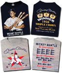 "Mickey Mantle ""Triple Crown"" and ""Pennant"" T-Shirt"